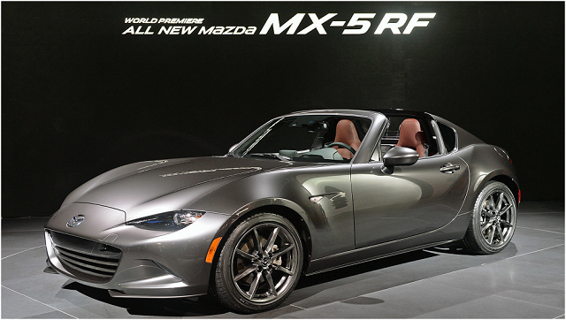 Mx 5 Rf Price >> 2018 Mazda MX-5 RF - review, specs, convertible, engine, price, changes